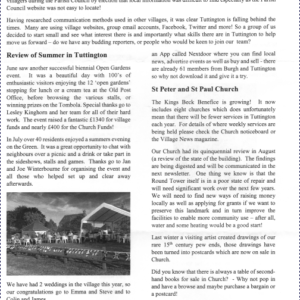 …and welcome to the Tuttington Times
