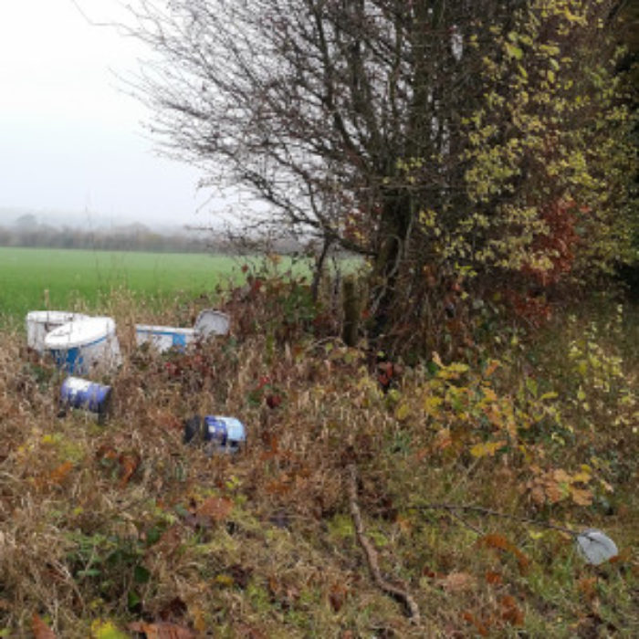 Fly-tippers lord-it around Tuttington