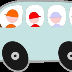 Bus drives back into Tuttington