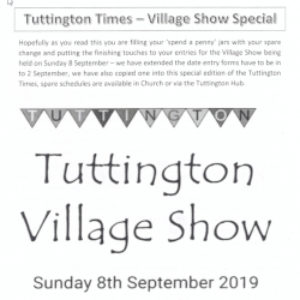 Autumn edition of the Tuttington Times is out!