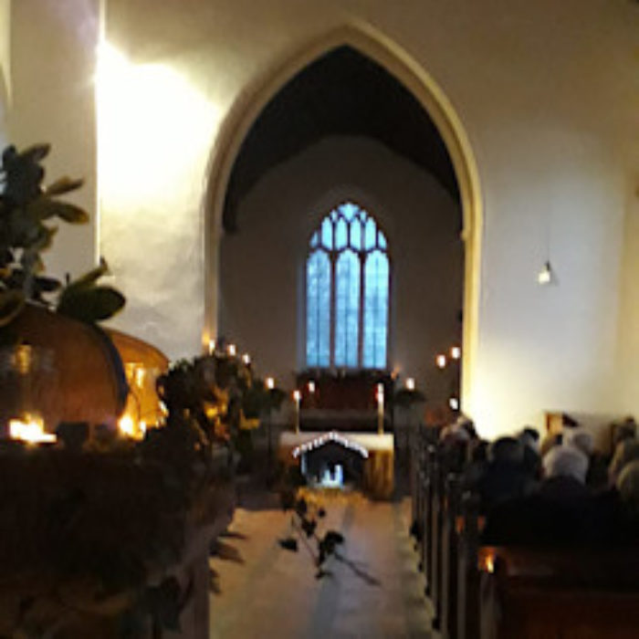Atmospheric carol service