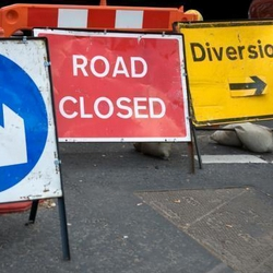 Road closure in Tuttington                    3rd to 4th December