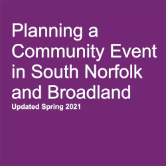 Useful info for event organisers
